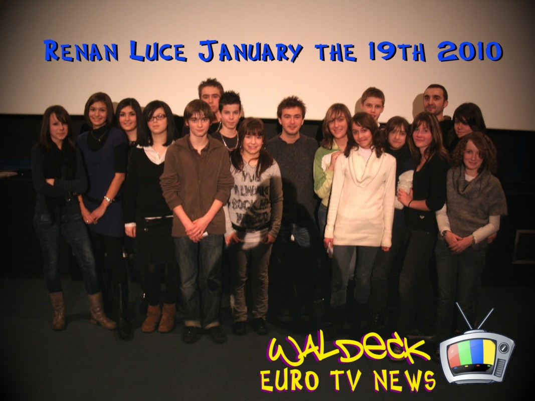 renan luce euro tv news